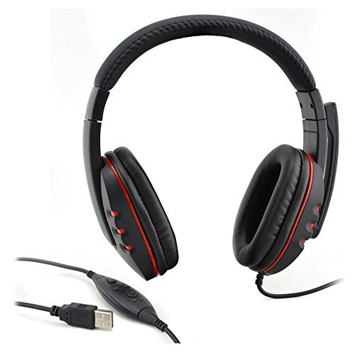 Donop Hot Fashion PS3 Gaming Headset headphone earphone (Ea Gam)