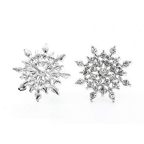 Crookston Elegant Fashion Women Lady Rhinestone Crystal Flower Ear Stud Earrings Jewelry | Model ERRNGS - 1732 |