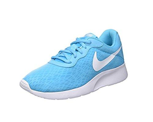 Nike Wmns Damer Tanjun Br Sneakers, Blå Azul (gamma Blå / Hvid)