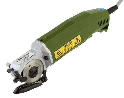 UPC 885885001218, Reliable XD-1005A 2-1/2-Inch Hand-Held Cloth Cutting Machine, Made In Japan