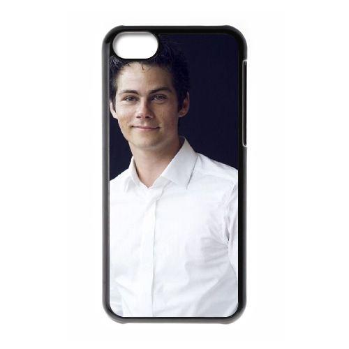 Dylan O'Brien 003 coque iPhone 5C Housse téléphone Noir de couverture de cas coque EOKXLLNCD18103
