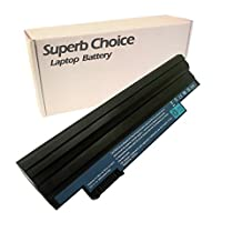 Superb Choice 9-cell Laptop Battery for Acer Aspire One D270 D260 D255 D255E AO722