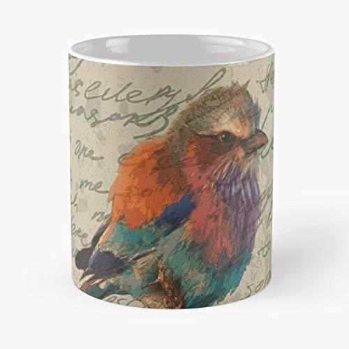 Bird Cut - Ceramic Novelty Mugs 11 Oz, Funny Gift