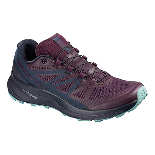 Purple Ride Women's Aw18 Graphite Scarpe Sense Corsa Potent Salomon Trail Da nxZAw4pq