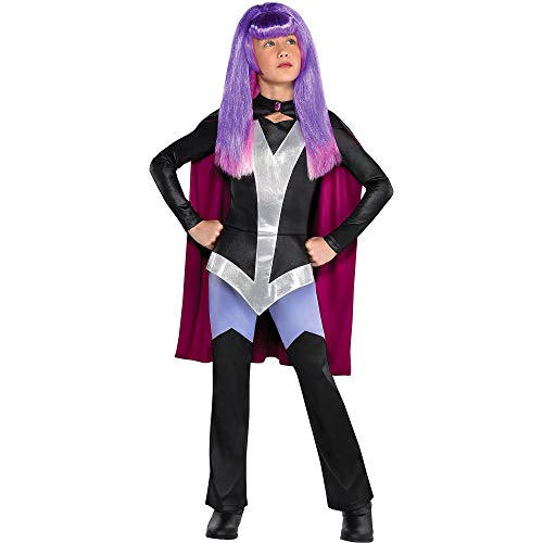 Party City Zatanna Halloween Costume for Girls, DC Super Hero Girls, Medium, Includes