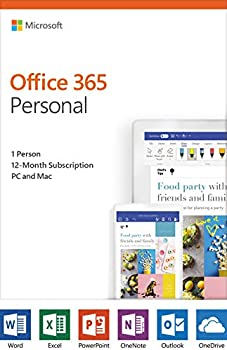 Microsoft Office 365 Personal (12-month subscription)