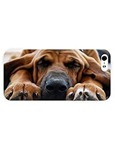 3d Full Wrap Case for iPhone 6 4.7 Animal Bloodhound Sleepin