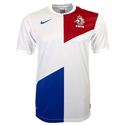 Nike Dutch Short Sleeve Replica Jersey (Football White) (XL)