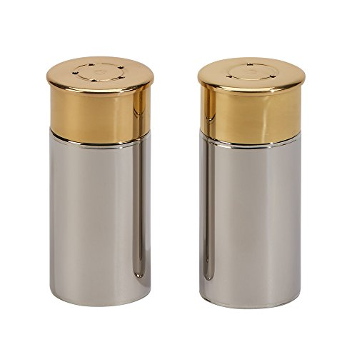 Shotgun Shell Salt and Pepper Shakers Set
