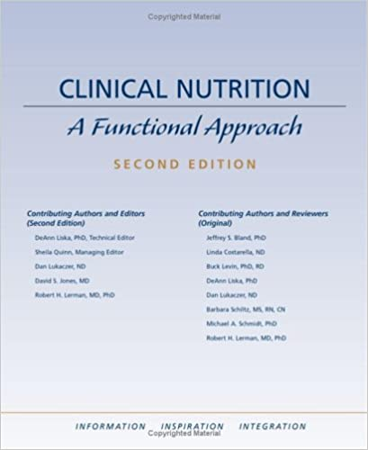 Clinical Nutrition: A Functional Approach: 9780962485916: Amazon.com ...