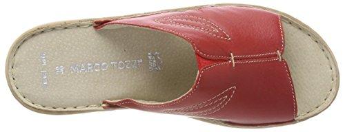 MARCO TOZZI premio Women's 27901 Mules, White Red (Chili 533)