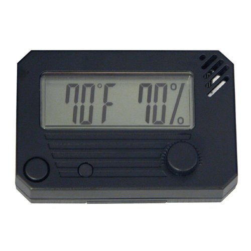 Quality Importers HygroSet II Hygrometer for Cigar Humidors by Quality Importers