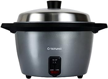 Tatung 11-Cup Ceramic Rice Cooker Steamer