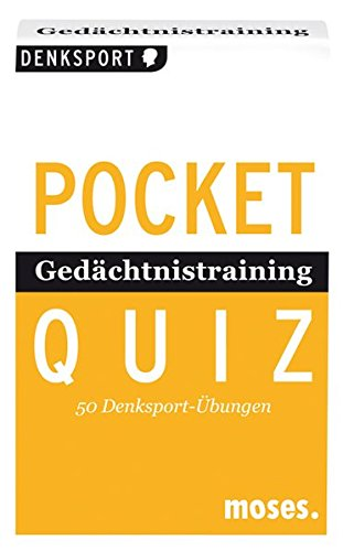 POCKET-QUIZ: GEDAECHTNISTRAINING