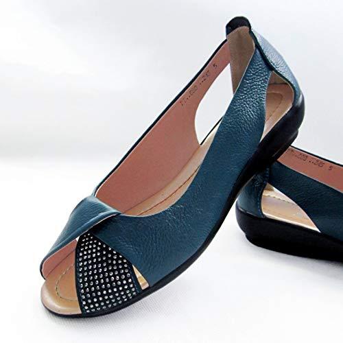 41 ZHRUI Chaussures Taille EU Bleu Bleu coloré aOqaX