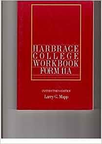 Harbrace College Handbook (8th Ed.) Hardcover