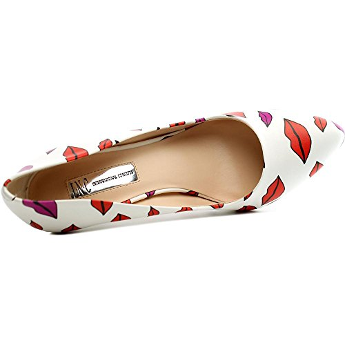 INC International Concepts - Zapatos de vestir para mujer Lips White
