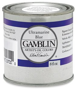 Gamblin Flake White Replacement Oil Color 32oz can ()