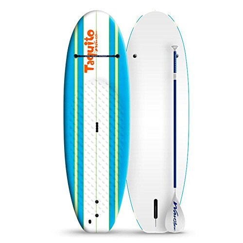 Wavestorm Taquito 7' Junior Stand Up Paddle Board Bundle by Wavestorm