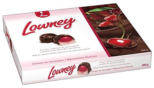 Lowney Maraschino Cherries Chocolates, 200-Gram Imported from Canada