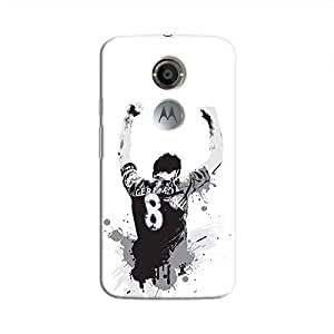 Cover It Up - Gerard Print Moto X2 Hard Case