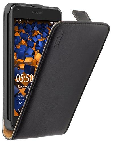mumbi PREMIUM Leder Flip Case Microsoft Lumia 640 Tasche