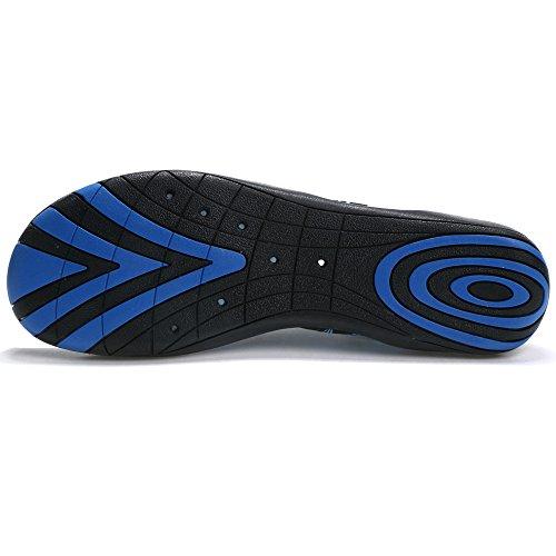 Laiwodun Unisex Zapatos de Agua de Nataci¨®n Calzado de Agua Calzado de Surf Calzado de Playa. Azul