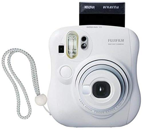 Fujifilm Instax MINI 25 Instant Film Camera, White (Renewed)