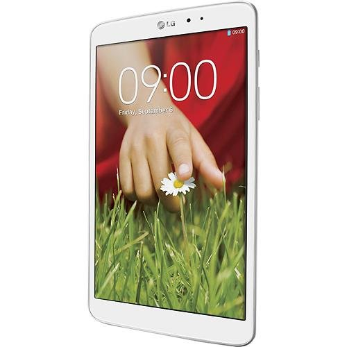 Lg White Icon (LG G Pad 8.3 Tablet Quad-core 2gb RAM 16gb Flash 8.3 Full Hd Display White)