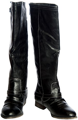 Breckelles Women's Outlaw-81 Knee High Boot - stylishcombatboots.com