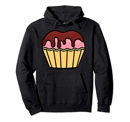 Cool Chocolate Halloween Cupcake Costume Hoodie Funny -