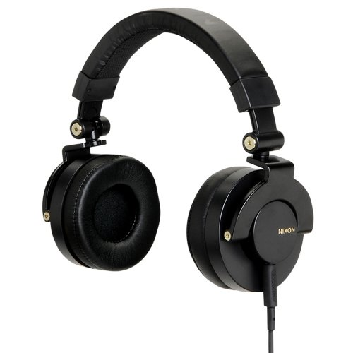 Nixon RPM Headphones Black/Gold, One Size