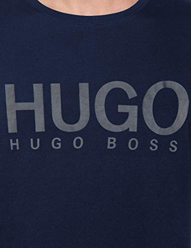 Homme U2 shirt dark Dolive Bleu Hugo Sweat 405 Blue F5Ixz