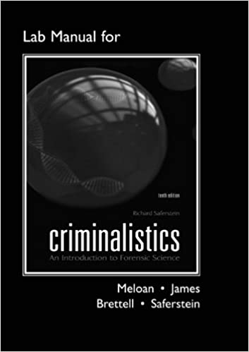 Lab manual for criminalistics an introduction to forensic science lab manual for criminalistics an introduction to forensic science catalyst the pearson custom library for chemistry 10th edition fandeluxe Images