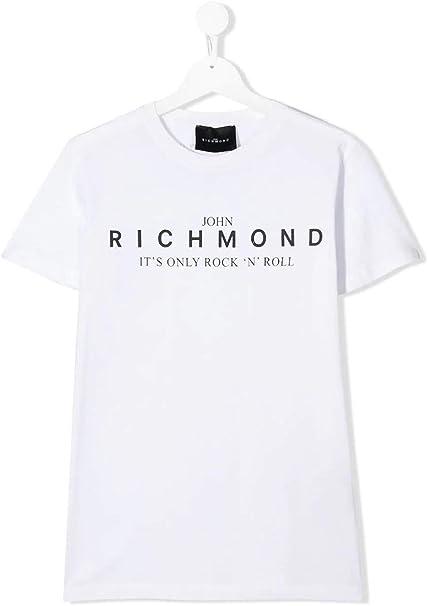JOHN RICHMOND KIDS T-Shirt T-Shirt Rocha MC Boys White RBP20069TS
