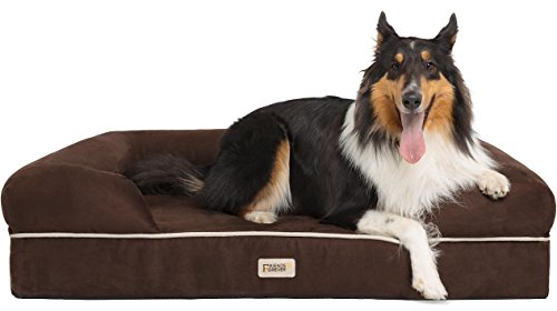 (Friends Forever 100% Suede Large Dog Bed/Lounge, Prestige Edition (44