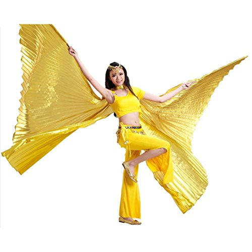 Calcifer@ Egyptian Egypt Belly Dance Wings Opening Isis W...