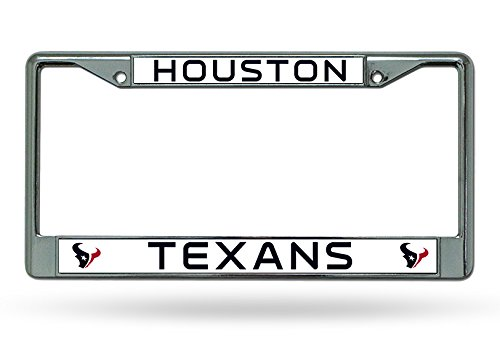 NFL Houston Texans Chrome Plate - Houston Warehouse Frames