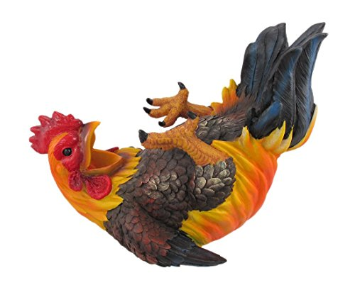 Happy Feet Rooster Wine Bottle Holder