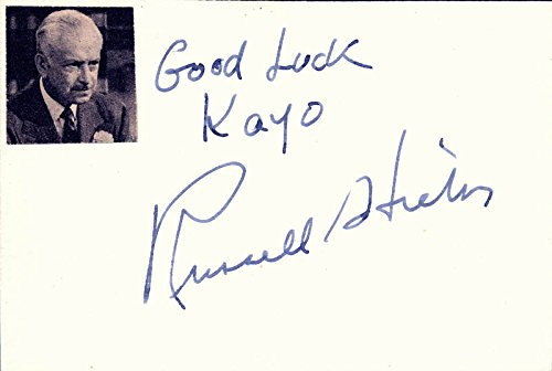 Russell Hicks - Autograph Note Signed