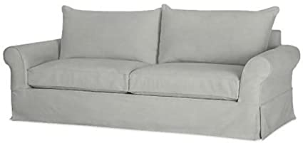 The Cotton Sofa Cover Only Width 81 85 Not 92 Fits Pottery Barn Pb Comfort Roll Arm Sofa Not Grand Sofa A Durable Slipcover