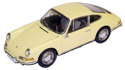 CMC Porsche 901 coupé, 1964 Champaign Yellow Limited Edition 1:18 Scale
