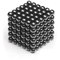 Microcase Neocube Manyetik Toplar Neodyum Sihirli Mıknatıs 5 mm 216 Adet Bilye - Antrasit