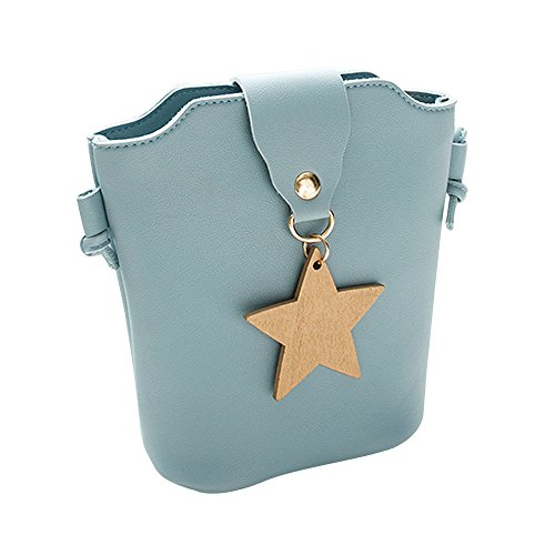 (Liraly Women Bags Women Messenger Bags Slim Crossbody Shoulder Bags Handbag Small Body Bags Crossbody Shoulder Bags (Blue)