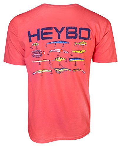 dcb48a12 Heybo Lures Coral Adult Short Sleeve T-Shirt-xl