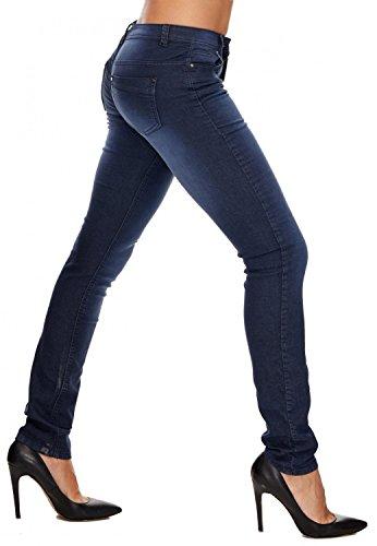 D1708 Arizonashopping Donne Blu Jeans Hosen Pantaloni Delle w8qxXvr8