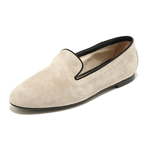 donna loafer TOD'S women 49457 Beige mocassino PANTOFOLA GOMMA BASSA shoes NEW scarpa 58S04qCxS