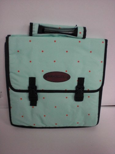 (AXIOM URBAN SHOPPER PANNIER GREEN POLKADOT)