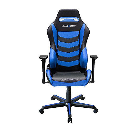 41Yus2XXrfL - DXRacer Drifting Series DOH/DM166 Racing Bucket Seat Office Chair Gaming Chair Ergonomic Computer Chair eSports Desk Chair Executive Chair Furniture with Free Cushions