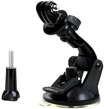 By Frentaly/™ tripod mount adapter GoPro Car Mount black long screw bolt CarMount Kit for Gopro Hero4 Hero 4 Black Silver Hero HD 3+ 3